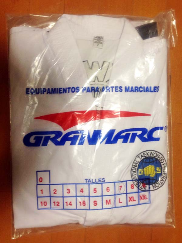 Granmarc dobok packaged
